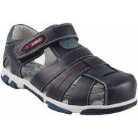 Schuhe Jungen Sandalen / Sandaletten Bubble Bobble BOBBLE a2384 blau Blau