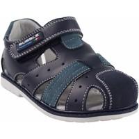Schuhe Jungen Sportliche Sandalen Bubble Bobble BOBBLE a2381 blau Blau