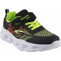Schuhe Jungen Multisportschuhe Bubble Bobble BOBBLE a3213 schwarz Grün