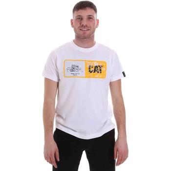 Kleidung Herren T-Shirts Caterpillar 35CC302 Weiß