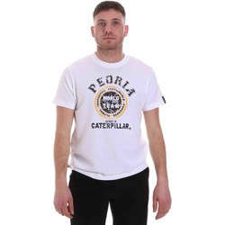 Kleidung Herren T-Shirts Caterpillar 35CC301 Weiß