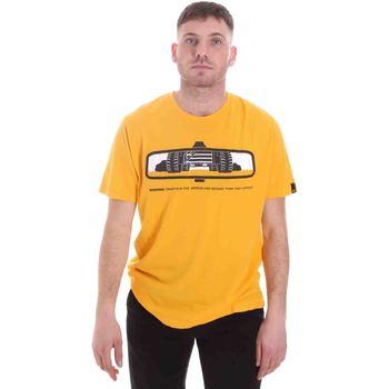 Kleidung Herren T-Shirts Caterpillar 35CC2510234 Gelb
