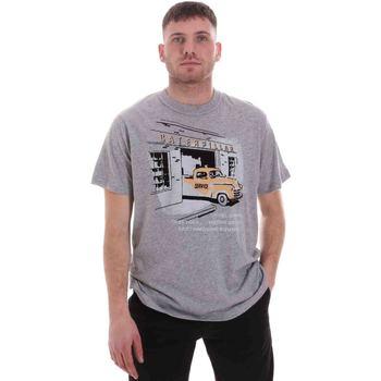 Kleidung Herren T-Shirts Caterpillar 35CC2510217 Grau