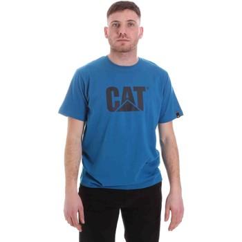 Kleidung Herren T-Shirts Caterpillar 35CC2510150 Blau