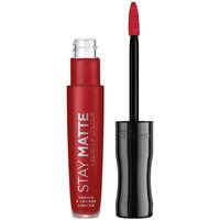 Beauty Damen Lippenstift Rimmel London Stay Satin Liquid Lip Colour 500 5,5 ml