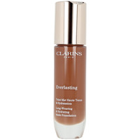 Beauty Damen Make-up & Foundation  Clarins Everlasting Teint Mat Haute Tenue 120c-espresso  30 ml