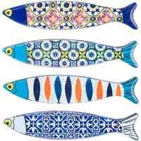 Home Statuetten und Figuren Signes Grimalt Magnetischer Fisch 4U Multicolor