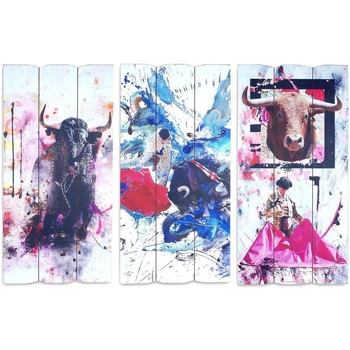 Home Gemälde, Leinwände Signes Grimalt Adorno Sigris Im September 3U Wand Multicolor