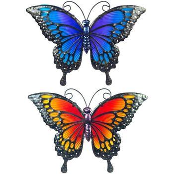 Home Außenbeleuchtung Signes Grimalt Schmetterling Im September 2U Multicolor