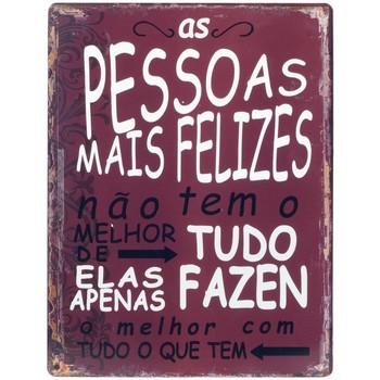 Home Gemälde, Leinwände Signes Grimalt Wandplatte Pessoas Felizes Rojo