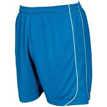 Kleidung Shorts / Bermudas Precision  Königsblau/Weiß
