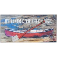 Home Gemälde, Leinwände Signes Grimalt Wandplatte Barca Remo Multicolor