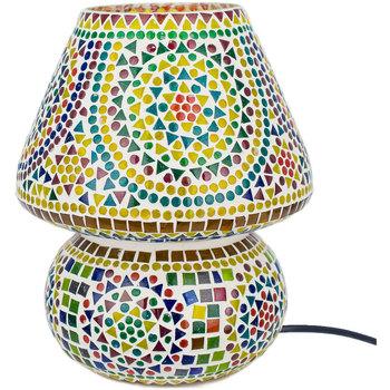 Home Tischlampen Signes Grimalt Mosaiklampe Verde
