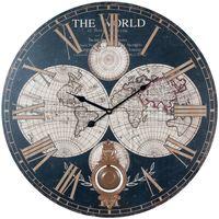 Home Uhren Signes Grimalt Welt Wanduhr Multicolor