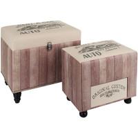 Home Koffer, Aufbewahrungsboxen Signes Grimalt 2U Lagerung Im September Rosa