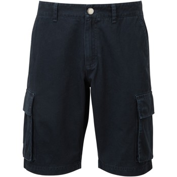Kleidung Herren Shorts / Bermudas Asquith & Fox AQ054 Marineblau