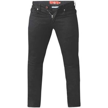 Kleidung Herren Slim Fit Jeans Duke  Schwarz