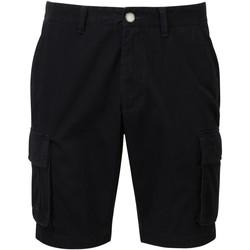 Kleidung Herren Shorts / Bermudas Asquith & Fox AQ054 Schwarz