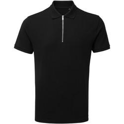 Kleidung Herren Polohemden Asquith & Fox AQ013 Schwarz