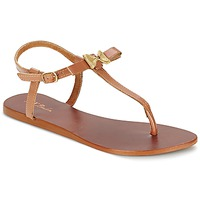 Schuhe Damen Sandalen / Sandaletten Betty London BASTINE Camel