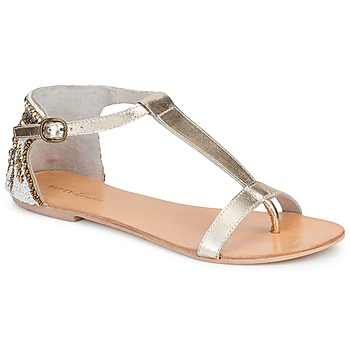Schuhe Damen Sandalen / Sandaletten Betty London MICHOUNE Goldfarben
