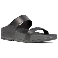Schuhe Damen Pantoffel FitFlop Lulu TM slide - black black