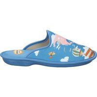 Schuhe Damen Hausschuhe Cosdam Z. DE CASA  4046 SEÑORA AZULON Bleu