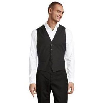 Kleidung Herren Anzugweste Sols MAX MEN Negro profundo