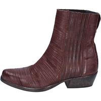 Schuhe Damen Low Boots Moma BJ679 Braun