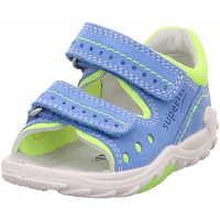 Schuhe Jungen Sandalen / Sandaletten Superfit 0 600030 8000 Flow Jungen Lauflernsandale Blau Blau