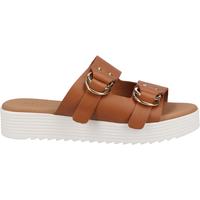 Schuhe Damen Pantoletten / Clogs Scapa Pantoletten Cognac