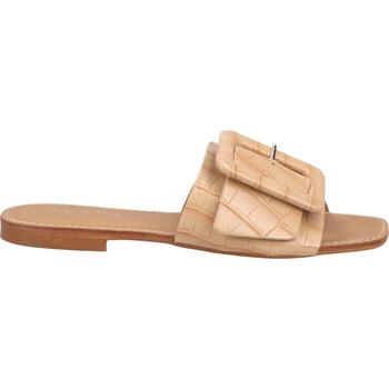 Schuhe Damen Pantoletten / Clogs Scapa Pantoletten Beige