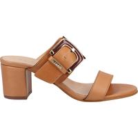 Schuhe Damen Pantoletten / Clogs Scapa Pantoletten Camel