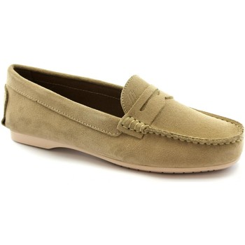 Schuhe Damen Slipper Frau FRA-E21-6851-SA Beige