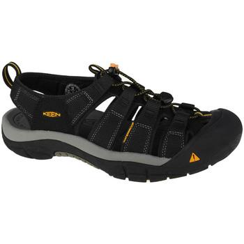 Schuhe Herren Sportliche Sandalen Keen Newport H2 Schwarz