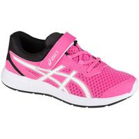 Schuhe Kinder Laufschuhe Asics Ikaia 9 PS Rose