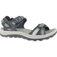 Schuhe Damen Sportliche Sandalen Keen Wms Terradora II Open Toe Grau