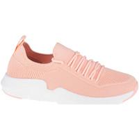 Schuhe Damen Sneaker Low Big Star Shoes Rose
