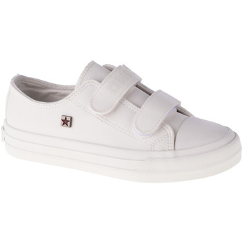 Schuhe Kinder Sneaker Low Big Star Youth Shoes Weiss