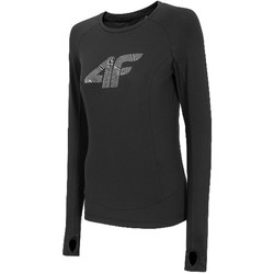 Kleidung Damen Langarmshirts 4F Women's Functional Longsleeve Schwarz