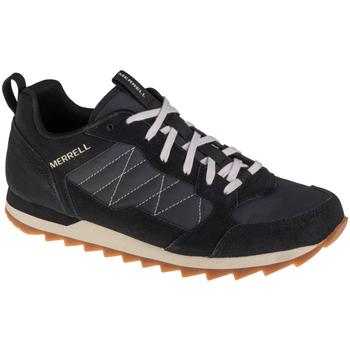 Schuhe Herren Laufschuhe Merrell Alpine Sneaker Schwarz