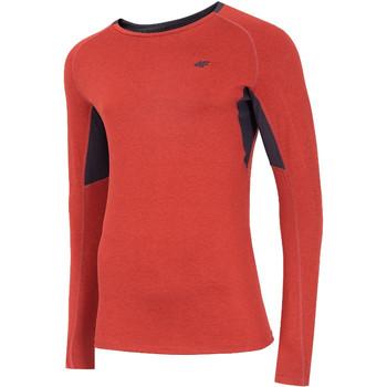Kleidung Herren Langarmshirts 4F Men's Functional Longsleeve Rot