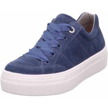 Schuhe Damen Sneaker Legero 0 600910 8600 Lima Damen Sneaker Blau (Indaco) Blau