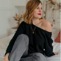 Kleidung Damen Pullover Céleste COMETE Noir