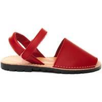 Schuhe Kinder Sandalen / Sandaletten Purapiel 69725 RED