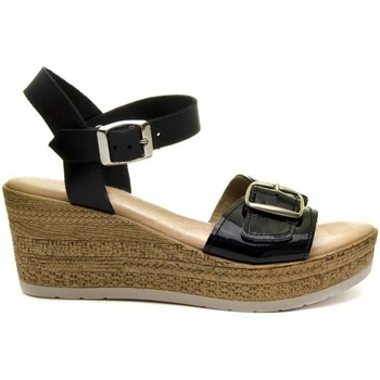 Schuhe Damen Sandalen / Sandaletten Purapiel 70161 BLACK