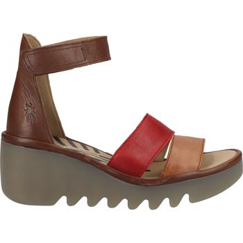Schuhe Damen Sandalen / Sandaletten Fly London Sandalen Braun/Rot