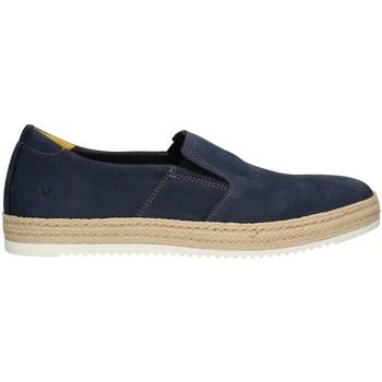 Schuhe Herren Slipper Valleverde 20890PE21 Halbschuhe Harren BLAU BLAU