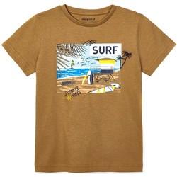 Kleidung Jungen T-Shirts & Poloshirts Mayoral  Marrón
