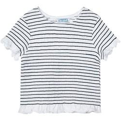Kleidung Mädchen T-Shirts & Poloshirts Mayoral  Negro